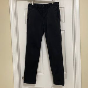 American Eagle khaki men's pants 32 x 34 Black